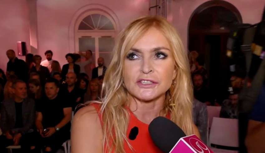 Monika Olejnik pokazała jak się biega Donaldowi Tusk