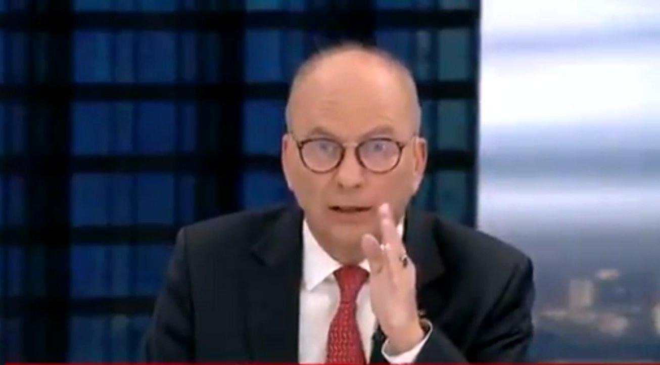 poseł Meysztowicz wzburzony po obejrzeniu spotu PiS