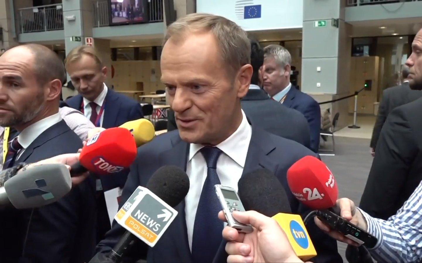 propolski.pl: Donald Tusk zwrócił się do rządzących