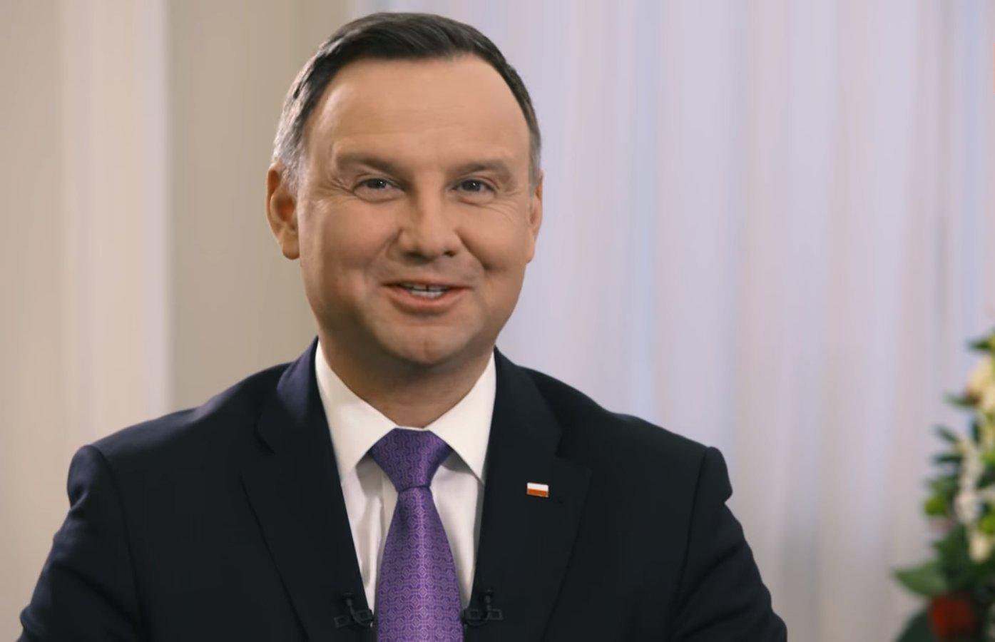 sondaż - Andrzej Duda
