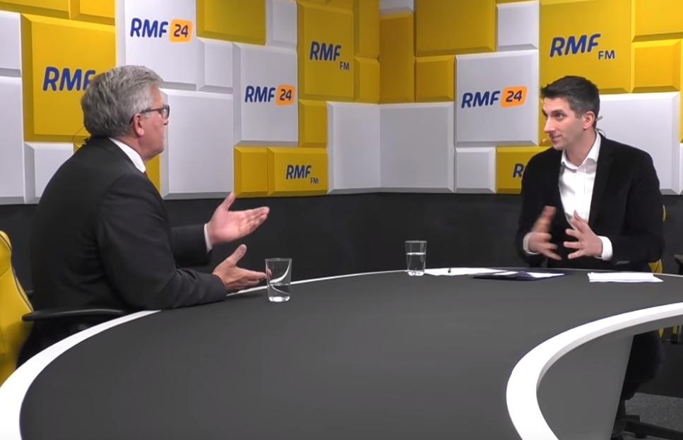 Komorowski gościł w RMF FM.