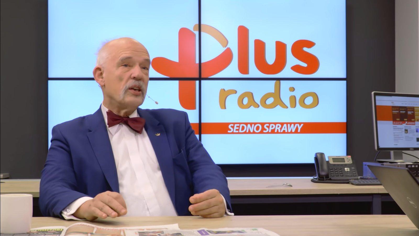 propolski.pl: Janusz Korwin-Mikke miał wypadek