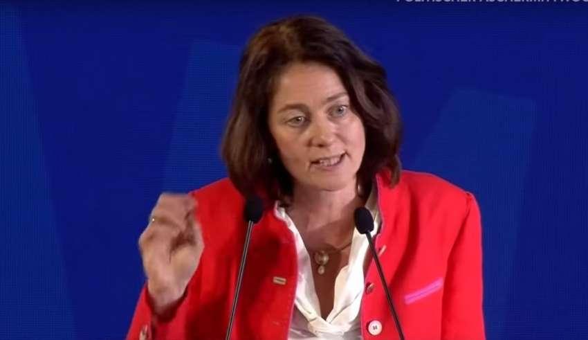 Niemiecka polityk - Katarina Barley