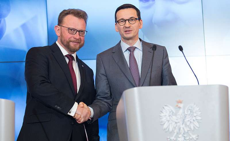 Morawiecki i Szumowski