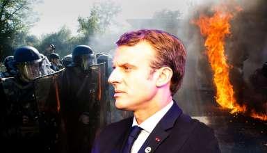 propolski.pl - Macron zmartwiony kryzysem, zdjęcie poglądowe. Nadciąga kryzys