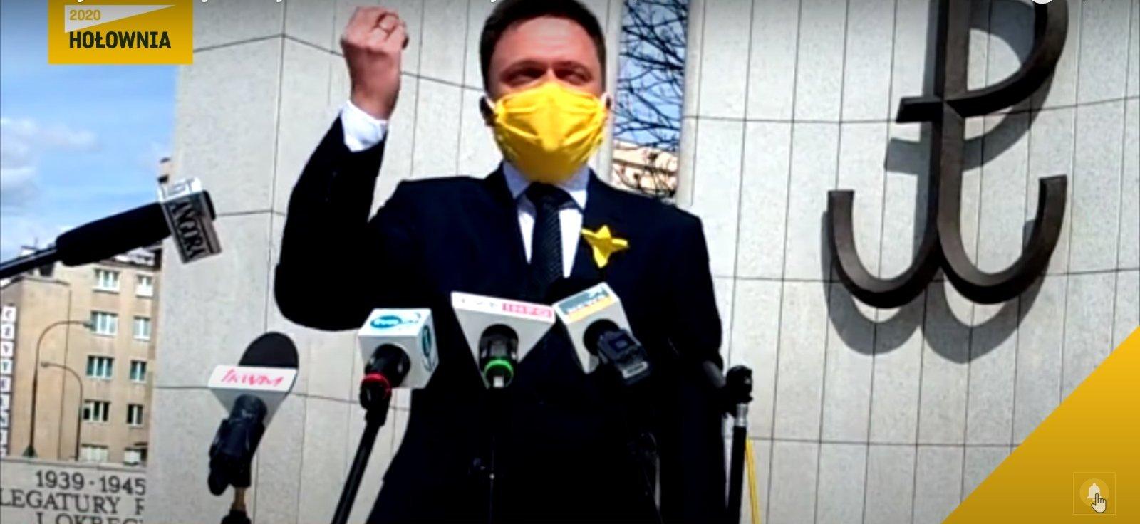 propolski.pl: Szymon Hołownia wyznał, że chce zostać premierem