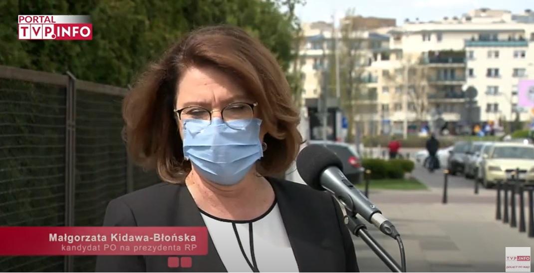 Kidawa-Błońska - dezinformacja