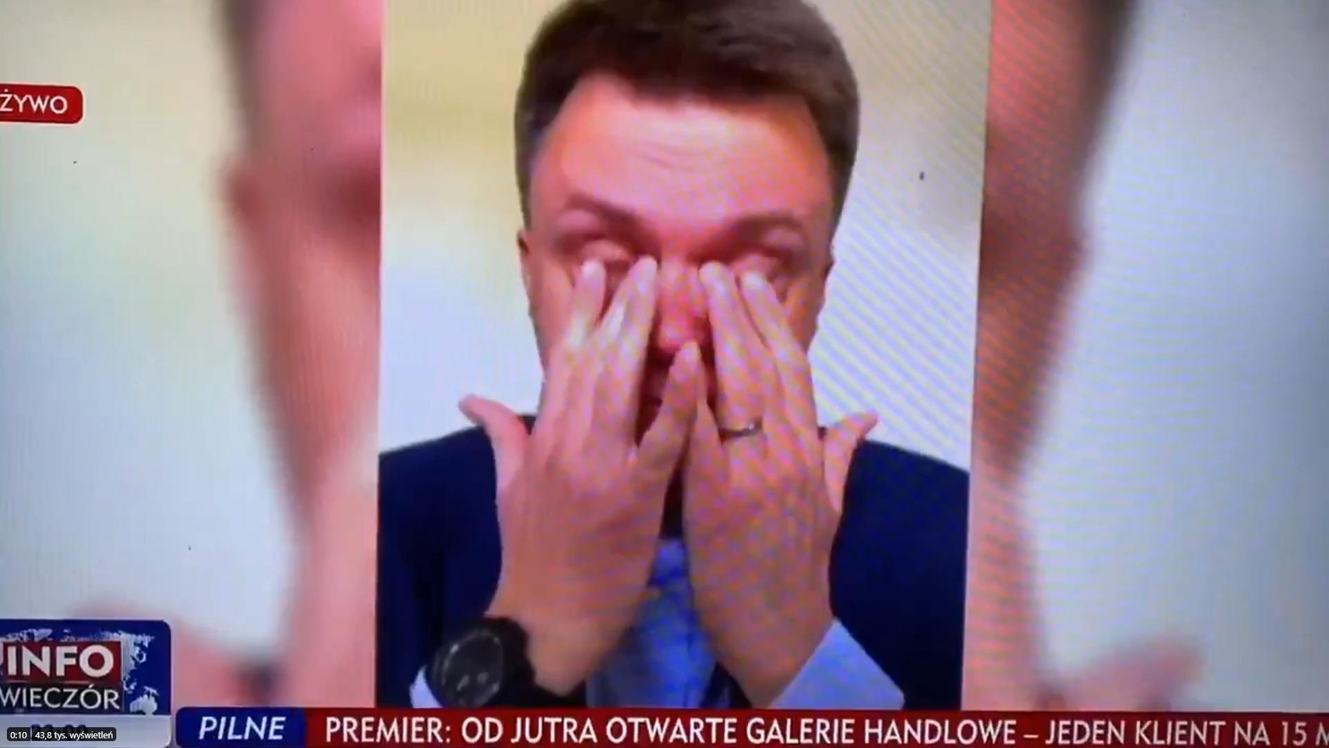 propolski.pl: Najnowszy sondaż tragiczny dla Hołowni. Tak źle nie było od dawna