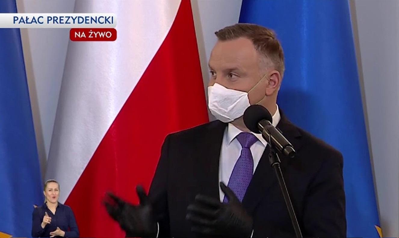 propolski.pl: Andrzej Duda o przyjęciu szczepień