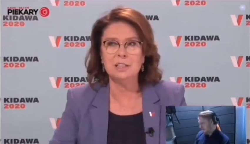 Kidawa-Błońska - kompromitacja