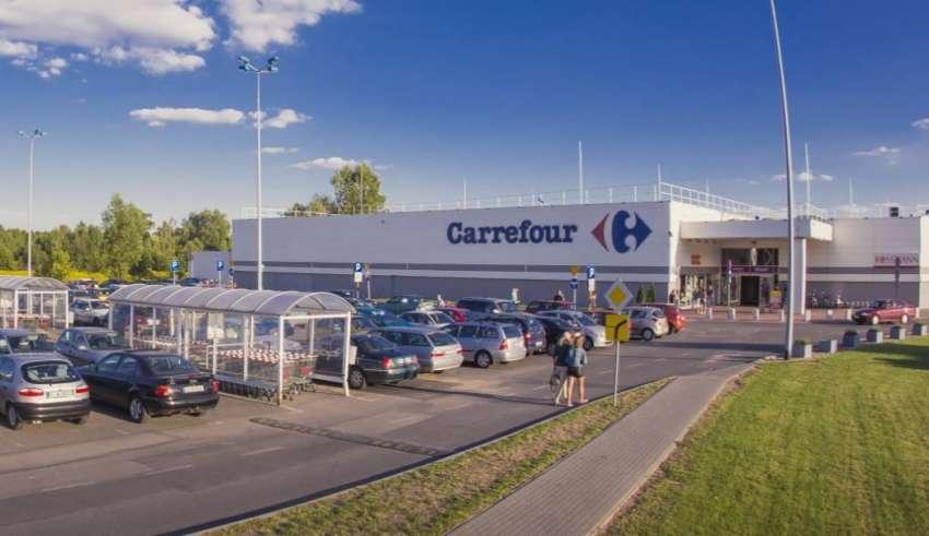 carrefour - centrum handlowe