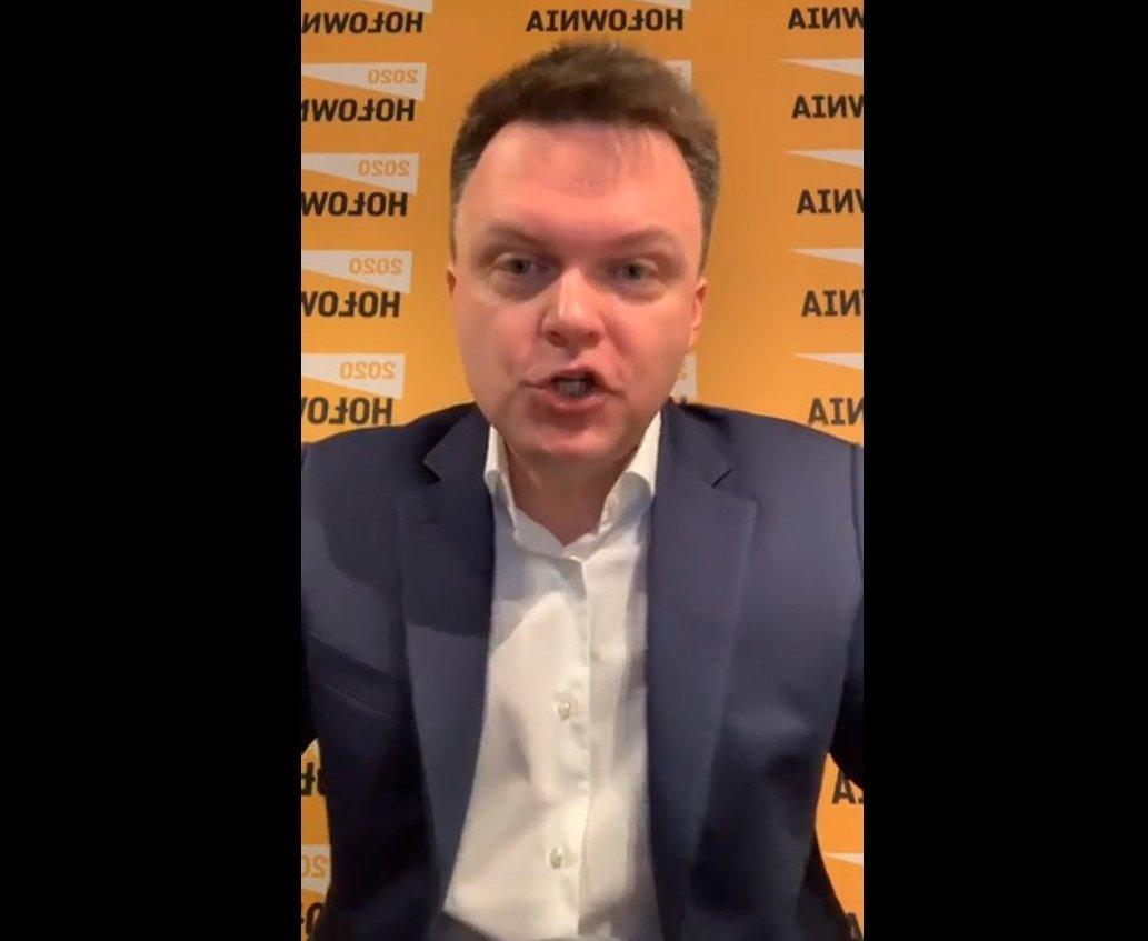 """propolski: Hołownia: """"Jego dni są policzone. Kaczyński mu nie wybaczy"""""""