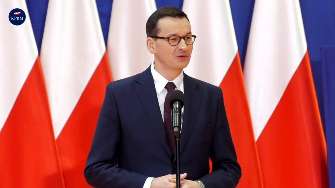 propolski: Premier Morawiecki o podpaleniu punktu szczepień i sanepidu
