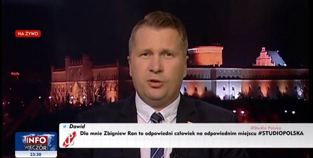 propolski.pl: Prof. Czarnek ukarany naganą