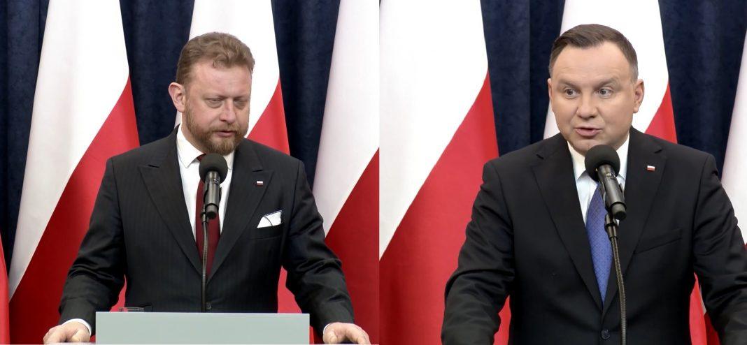 Szumowski i Duda