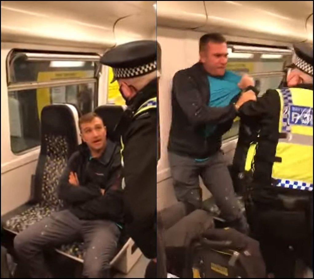 Policjant użył gazu pieprzowego