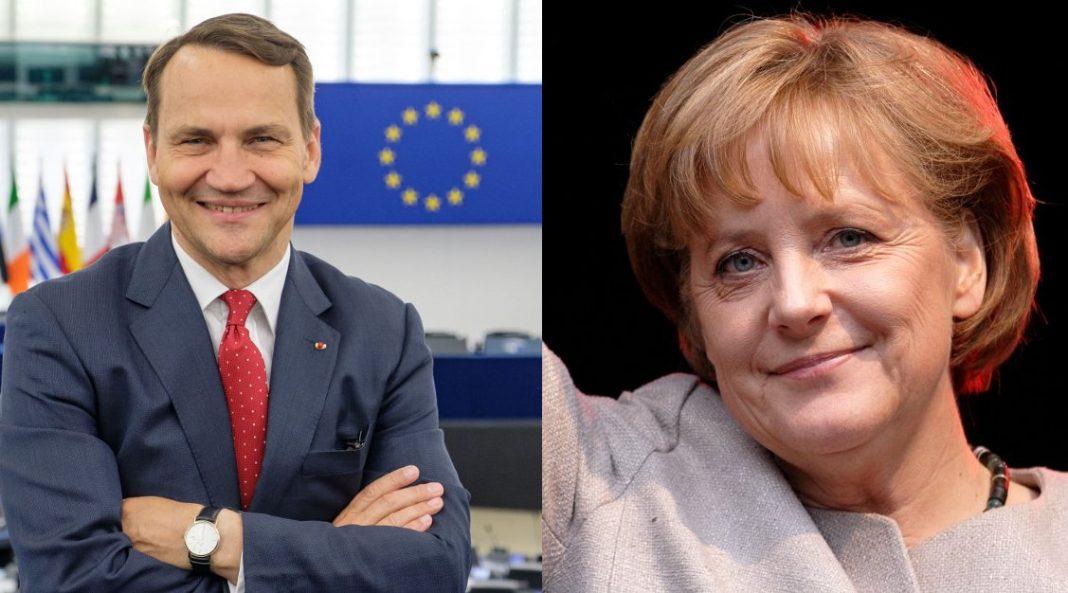 Sikorski i Merkel
