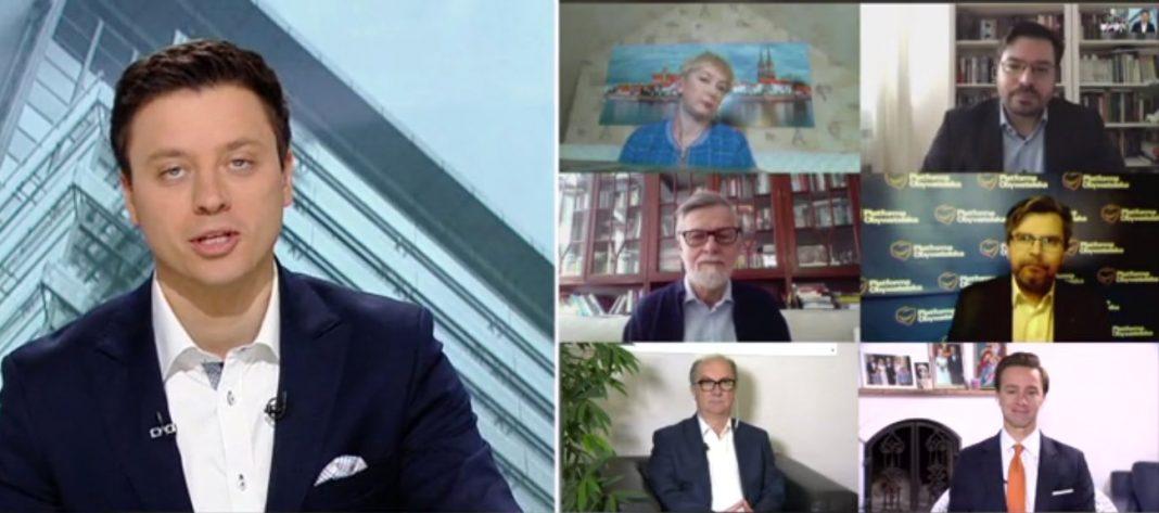 propolski.pl: Poseł PO zarzuca TVP, że ma żółty filtr na twarzy.