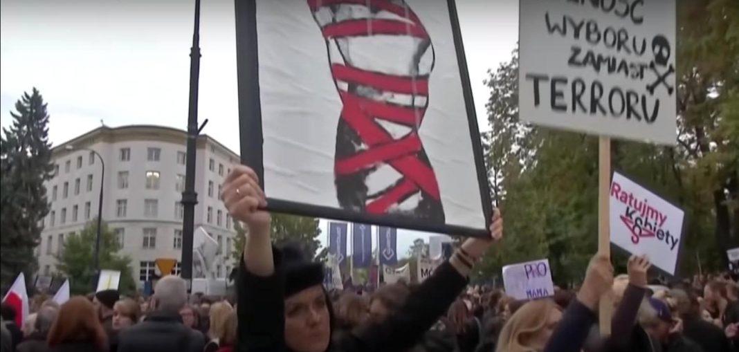Aborcjoniści sparaliżowali Lublin. Autobusy stoją, policja nie interweniuje
