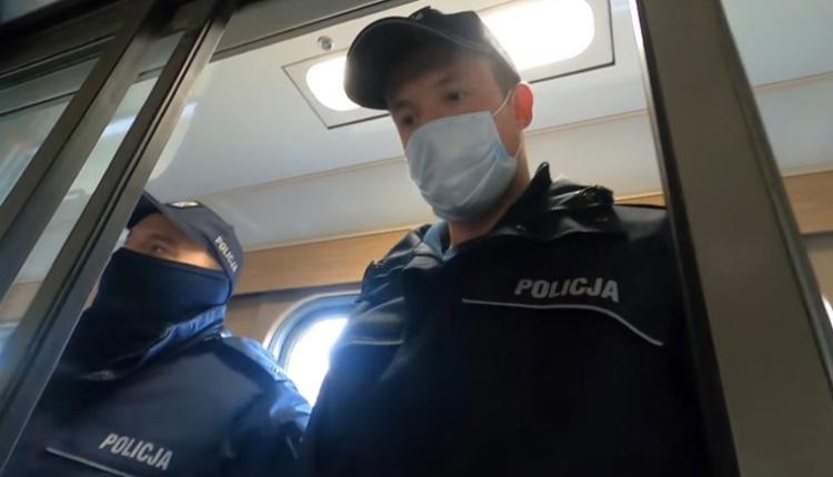 propolski: nieskuteczna interwencja policji
