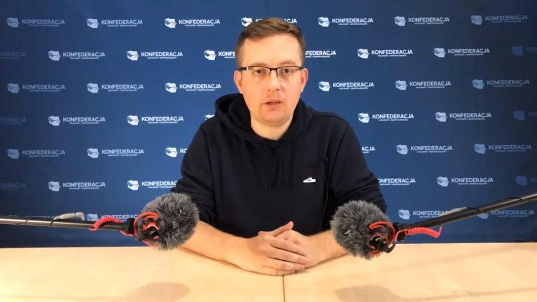 propolski.pl: Winnicki pogratulował Strajkowi Kobiet