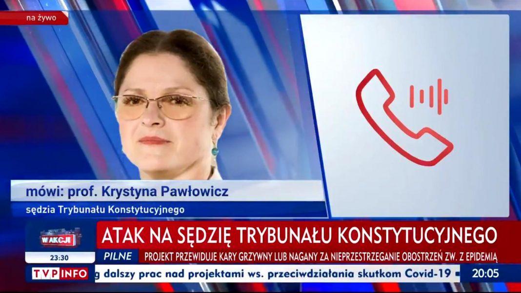 propolski.pl: Krystyna Pawłowicz zaatakowana pod własnym domem