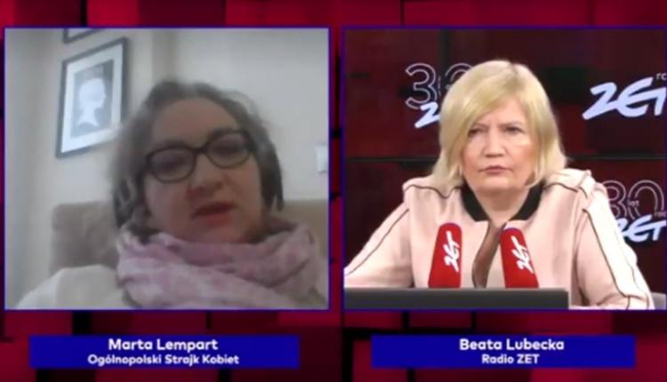 propolski.pl: Lempart o Strajku Kobiet
