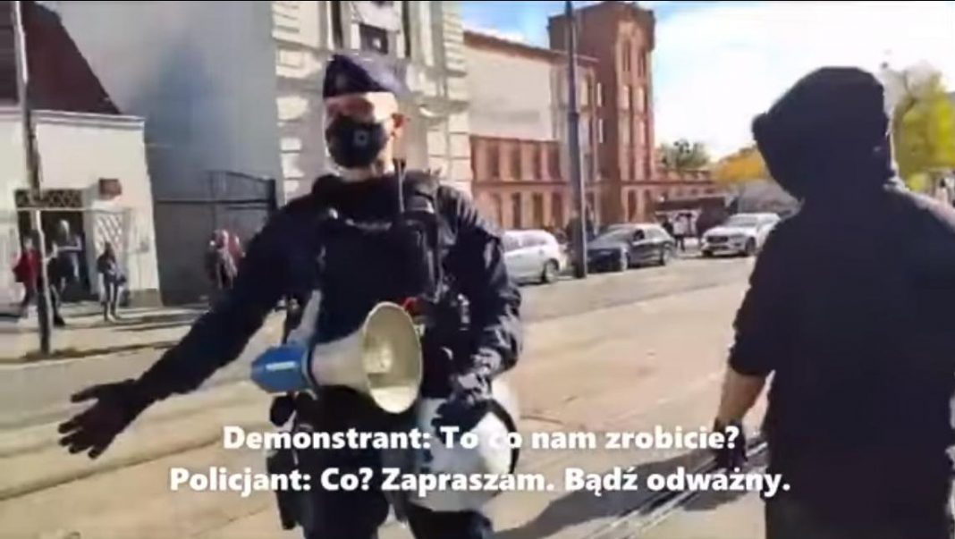 propolski.pl: Lewak do policjanta: