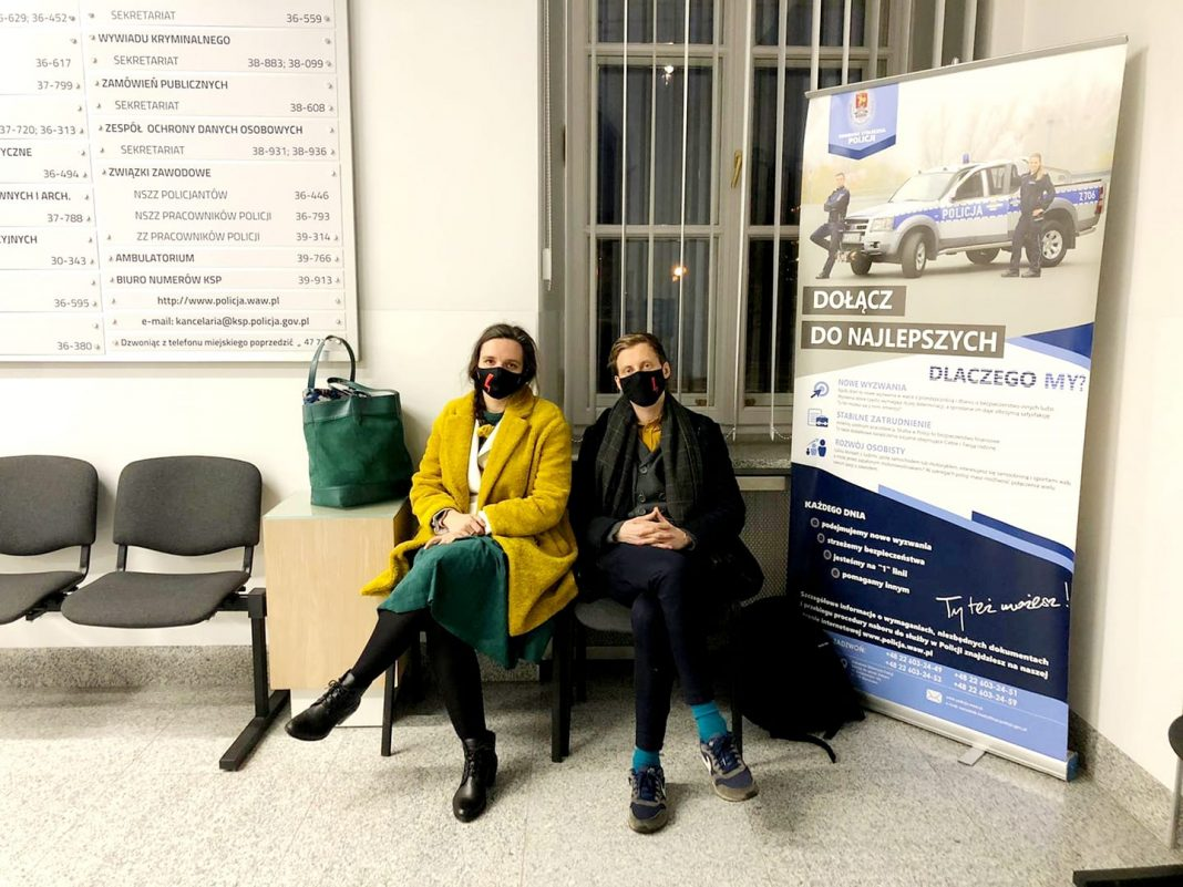 propolski.pl: Jachira opisała przebieg kontroli w Komendzie
