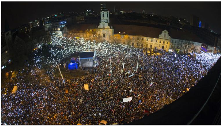 propolski.pl: Masowe protesty na Słowacji