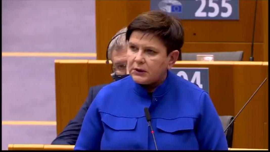 propolski.pl: Beata Szydło w Parlamencie Europejskim