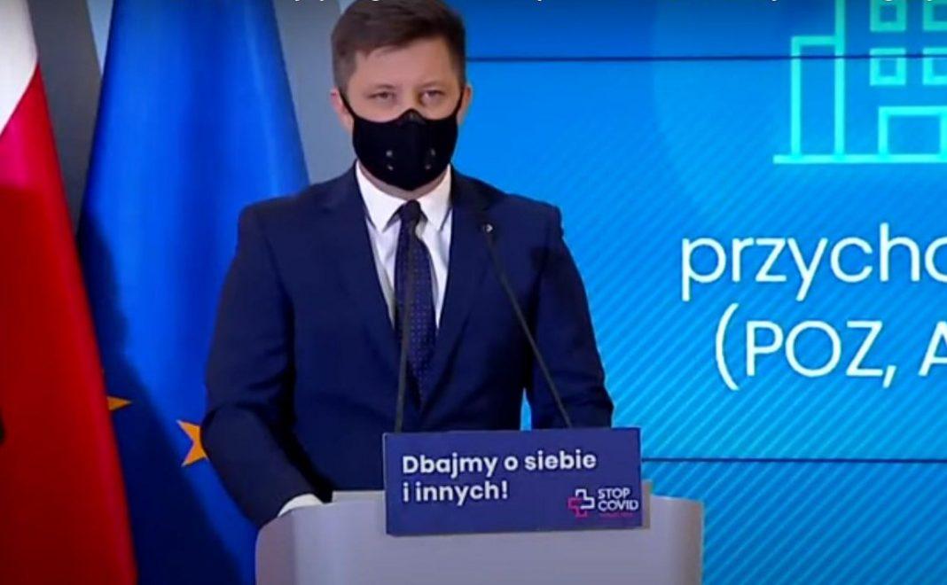propolski.pl: Michał Dworczyk powiedział, ile szczepień do tej pory wykonano.