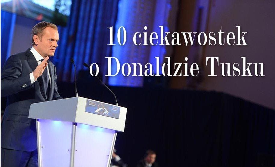 propolski.pl: 10 ciekawostek o Donaldzie Tusku