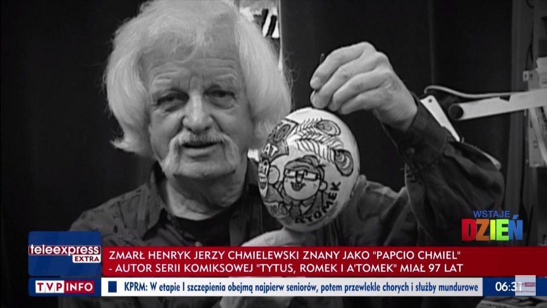 propolski.pl: Zmarł Papcio Chmiel. Miał 97 lat