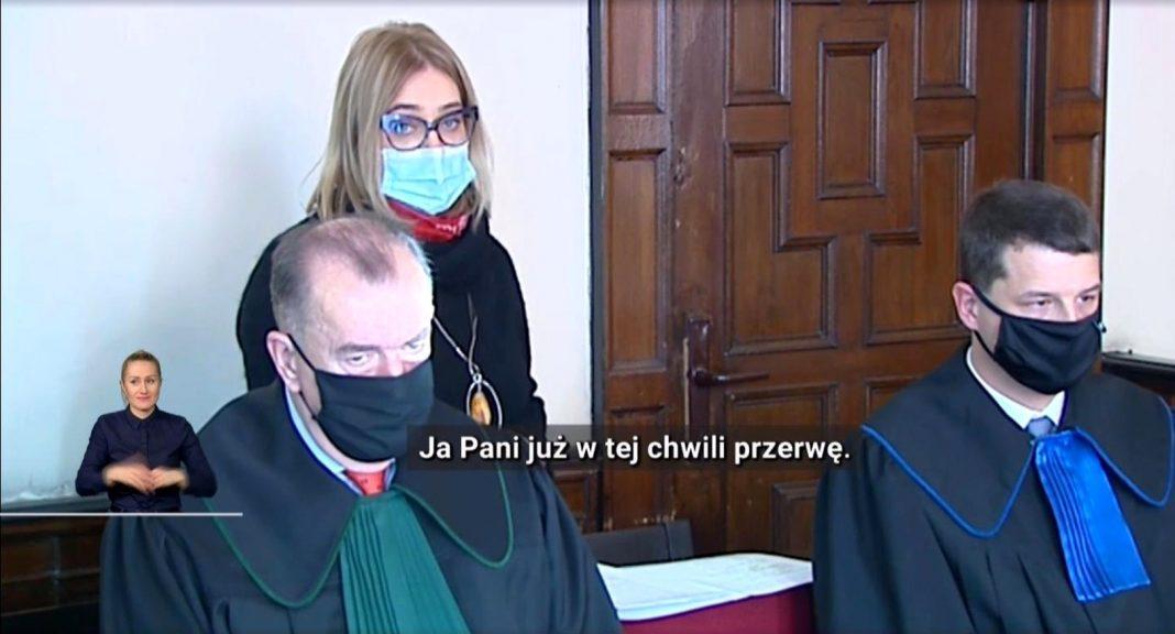 propolski.pl: Adamowicz dostała ostrą reprymendę od sędzi. Momentalnie zamilkła [WIDEO]