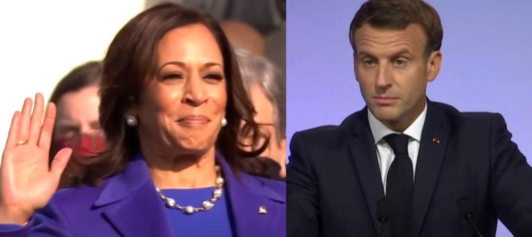 propolski.pl: Prezydent Macron znalazł w wiceprezydent USA Kamali Harris pokrewną duszę: