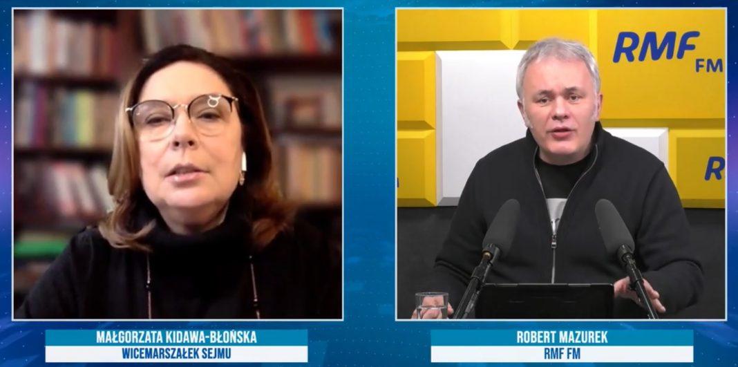 propolski.pl: Kidawa-Błońska deklaruje, że PO nie skręci w lewo. Zapytana o Gowina mówi: Nie pamiętam