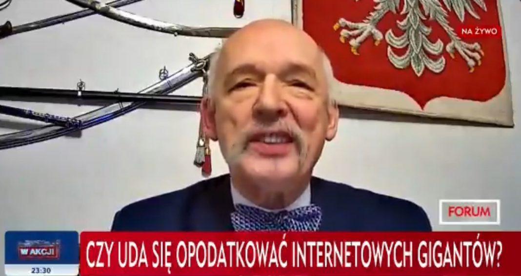propolski.pl: [video] Korwin-Mikke ośmieszył TVP na antenie TVP Info: