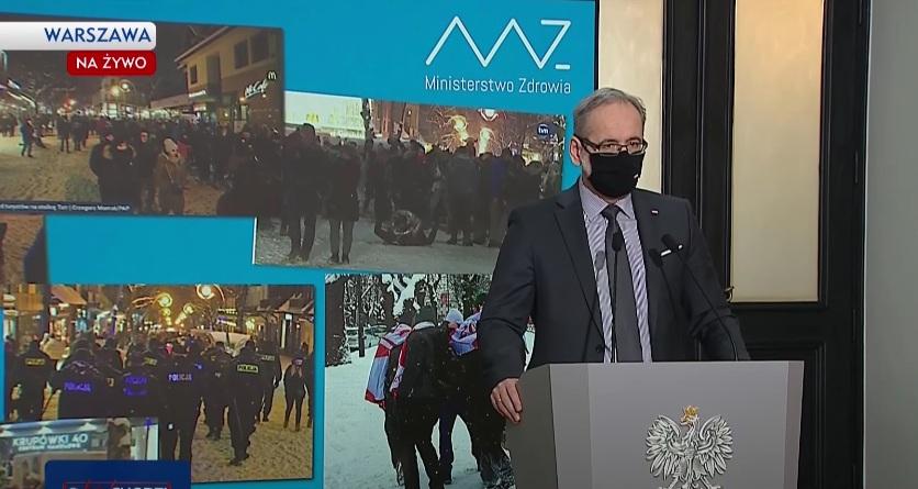 Minister Niedzielski