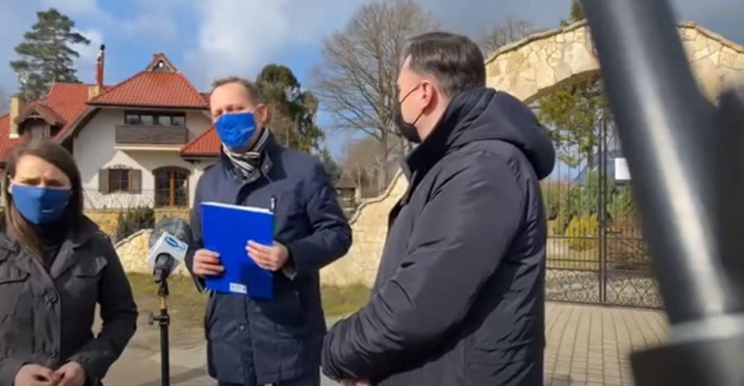 """propolski.pl: [video] Brat Daniela Obajtka nie wytrzymał i wyszedł do posłów KO: """"Nie po to ciężko pracuję, żebyście..."""