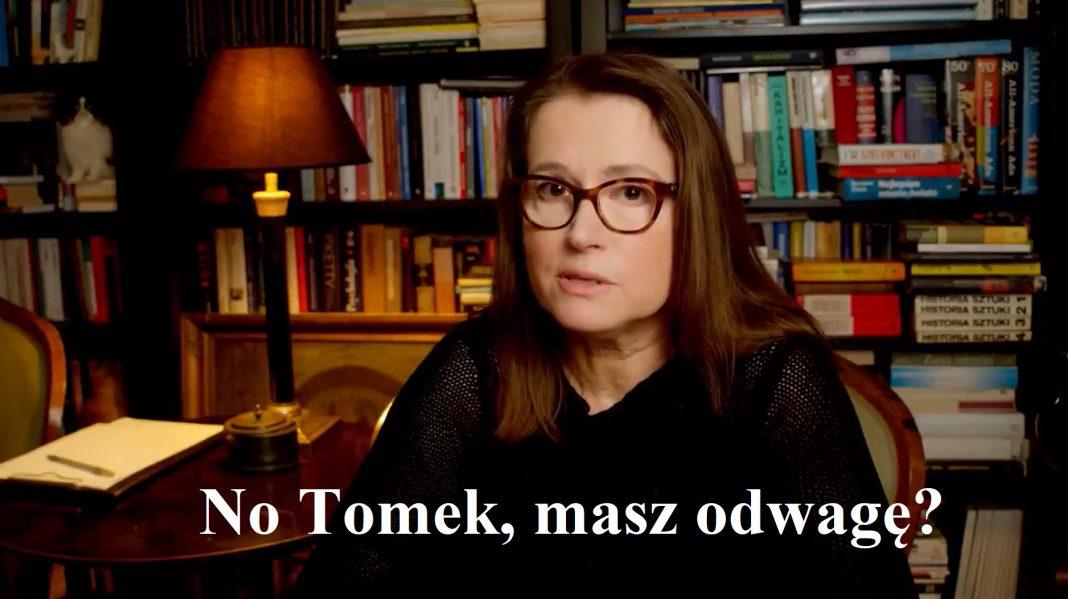 """propolski.pl: Monika Jaruzelska rzuca wyzwanie Tomaszowi Lisowi. """"Przyjdź i pokaż, czym jest obiektywne dziennikarstwo"""" [wideo]"""