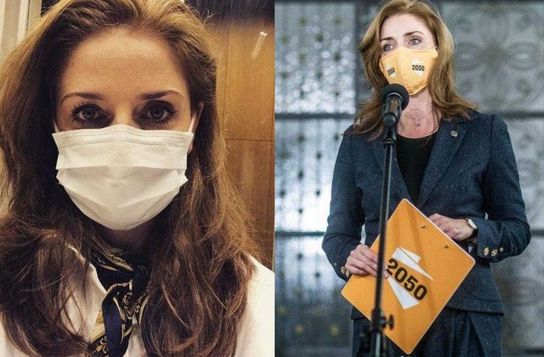 propolski.pl: Joanna Mucha zakażona koronawirusem