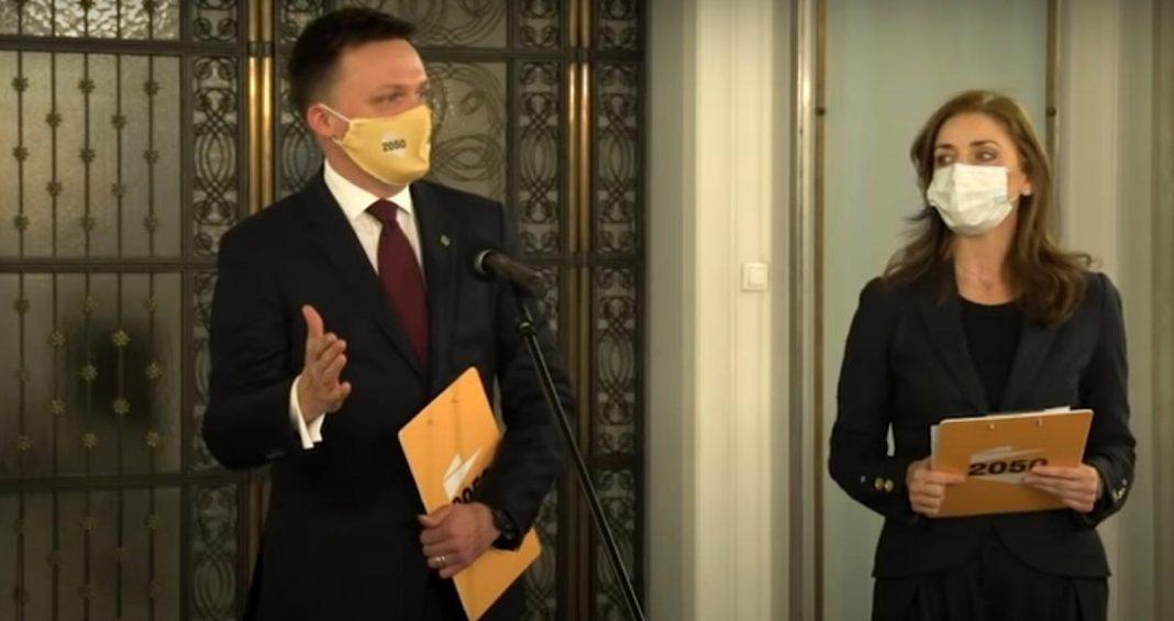 propolski.pl: Joanna Mucha chwali Hołownię