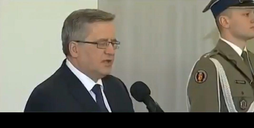 propolski.pl: [video] Internet przypomina wypowiedź Komorowskiego z 2015 roku podczas obchodów Dnia Pamięci Żołnierzy Wyklętych