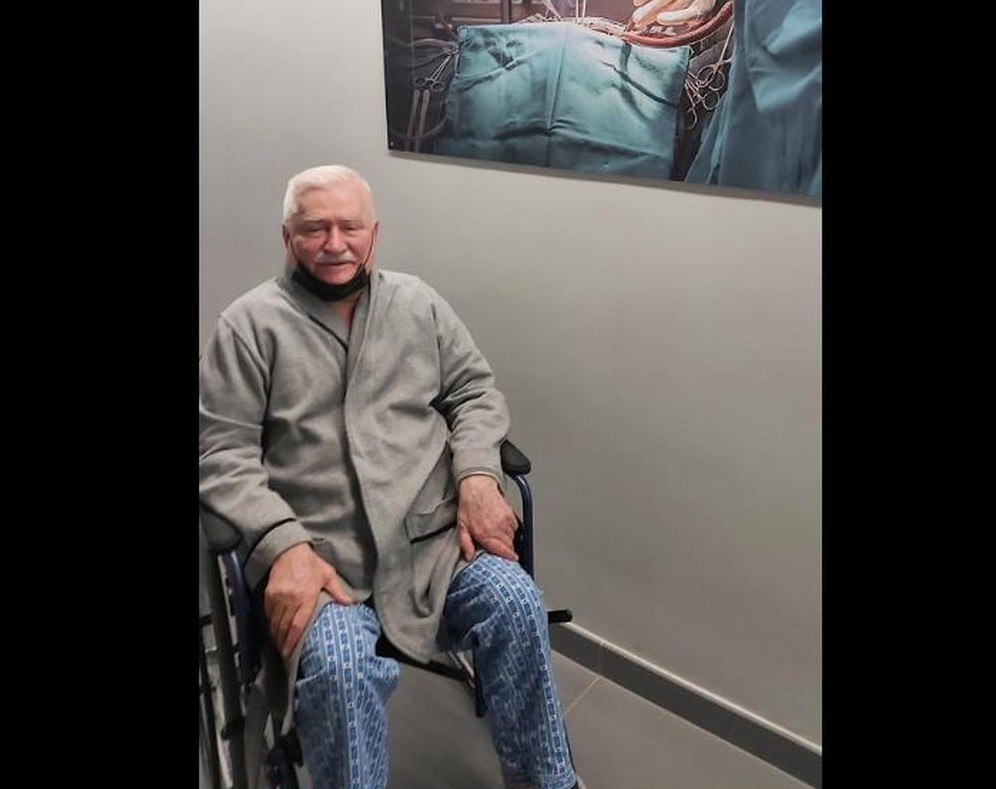 propolski.pl: Lech Wałęsa idzie do szpitala i żegna się ze światem: