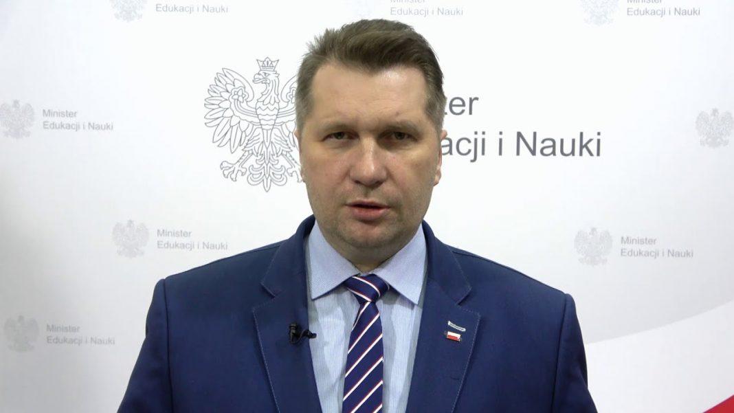 propolski.pl: Minister Czarnek o powrocie dzieci do szkół