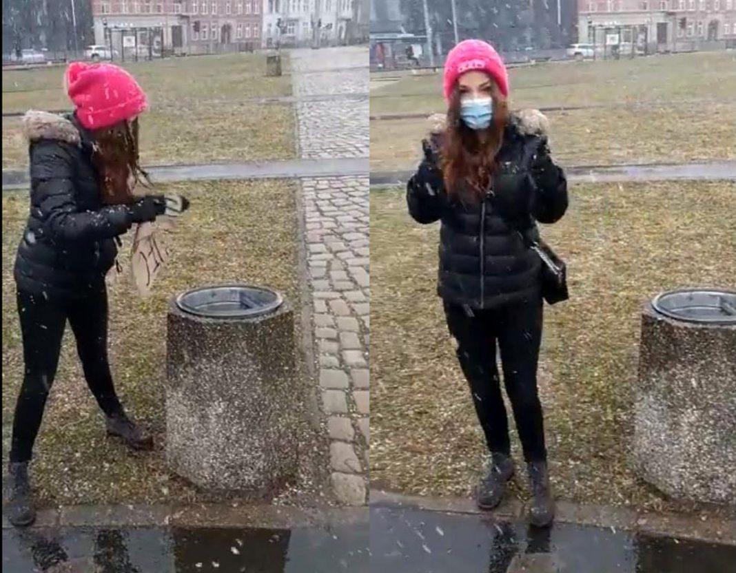 propolski.pl: Nastolatka sprzątała bałagan po Strajku Kobiet