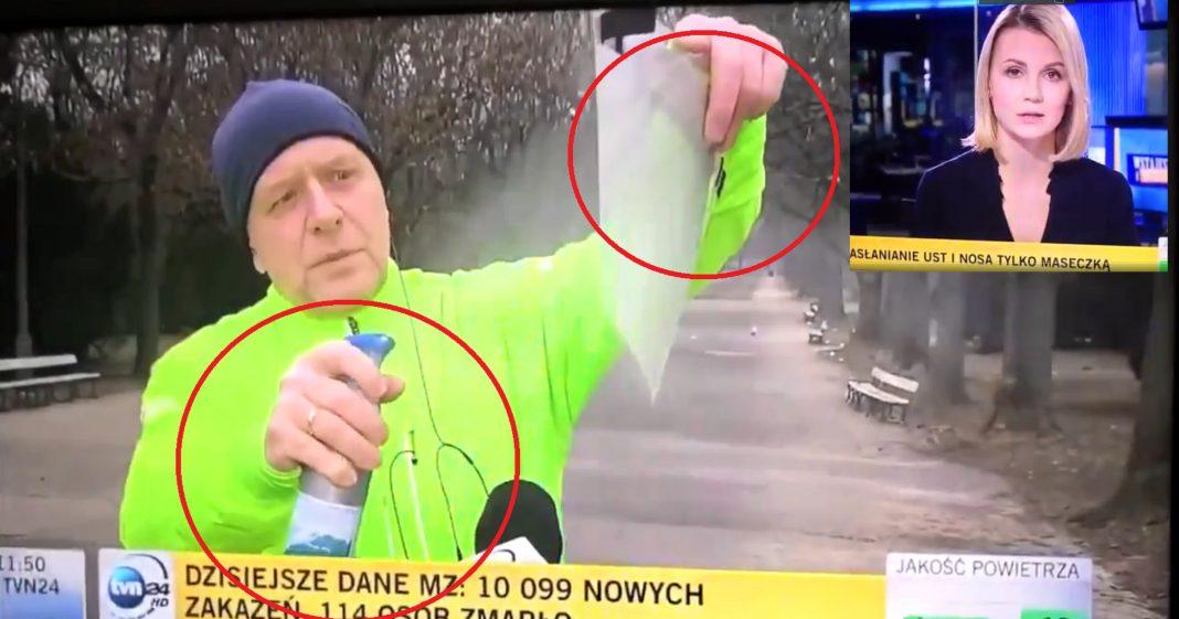 propolski.pl: Lekarz i TVN24 chcieli udowodnić skuteczność maseczek... Podczas biegania. Internet ich zmiażdżył: