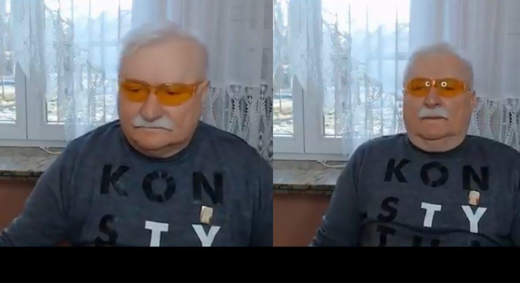 propolski.pl: Lech Wałęsa odniósł się do wpadki przed kamerą