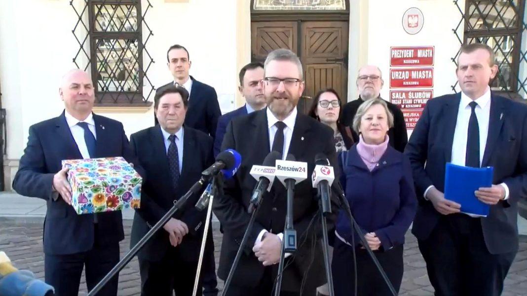propolski.pl: Braun jako pierwszy zarejestrował swoją kandydaturę na prezydenta Rzeszowa
